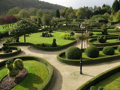 Vakantiewoning vakantiehuis la Brindille Durbuy ardennen alleenstaand huurwoning gezellig tuin te huur Topiary park